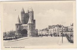 Haarlem - Amsterdamschepoort: BENZINEPOMP, 'AUTOBANDEN', 'BOLS', 'Z' Verkeersbord  - (Noord-Holland/Nederland) - Haarlem