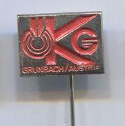 OKG - Grunbach Austria,vintage Pin, Badge, Abzeichen - Trademarks
