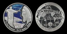 ANDORRE .LE  CHRIST REDOMPTEUR . RIO DE JANEIRO . - Tokens & Medals