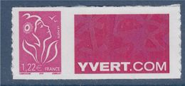 = Timbre Marianne De Lamouche Neuf YT N° 3802C Et Spink N°34 Logo Yvert.com - Personalized Stamps