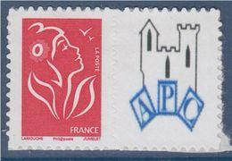 = Timbre Marianne De Lamouche Neuf YT N° 3802Ac Et Spink N°56 Logo APC (club Philatélique) - Personnalisés