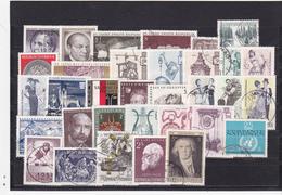 Österreich, Kpl. Jahrgang 1970, Gest. - Ganze Jahrgänge