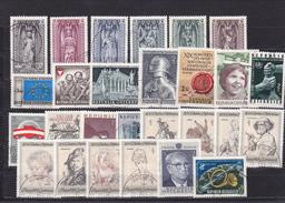 Österreich, Kpl. Jahrgang 1969, Gest. (T 12769) - Ganze Jahrgänge