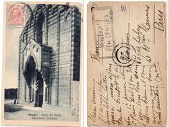 BRINDISI - Chiesa Del Casale - Cachet De Censure    (101726) - Italie