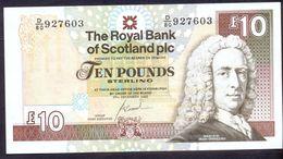 UK Scotland 10 Pounds 2007 XF P- 353b  < The Royal Bank Of Scotland Plc > - [ 3] Scotland