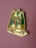 PIN'S   SHELL - RANDONNEE PEDESTRE  ASB     -  Automobile, Carburant, Huile    (26) - Badges