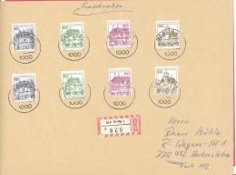 Berlin   Michel #  532 : 64   Kombinationen  Mif   R- Brief  Von Berlen Nach Aschersleben (DDR) - Berlin (West)