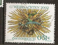 Autriche Austria 2002 Noel Christmas Obl - 2001-10 Oblitérés