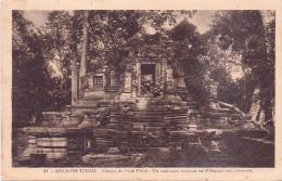 ALTE AK   ANGKOR THOM / Kambodscha  - Tempelanlage -  1928 Gelaufen - Cambodia