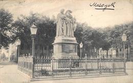 Maaseik  Maaseyck  Statue Des Peintres J. Et H. Van Eyck Schilders Standbeeld       I 2587 - Maaseik