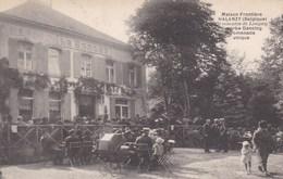 HALANZY - AUBANGE - LUXEMBOURG - BELGIQUE  - PEU COURANTE CPA TRÈS ANIMÉE - 1931. - Aubange
