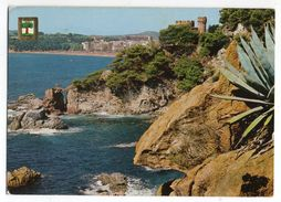 Espagne --1978-- LLORET DE MAR  -- Chateau Et Falaises - Gerona