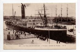 - CPA LA PALLICE-ROCHELLE (17) - Paquebot ORCOMA Sortant Du Bassin 1918 - Photo Marcel Delboy 203 - - La Rochelle