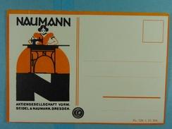 Naumann Aktiengesellschaft Vorm. Seidel & Naumann, Dresden - Publicité