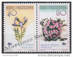 Bosnia Hercegovina - Bosnie 1997 Yvert 233-34, Flora, Flowers - MNH - Bosnie-Herzegovine