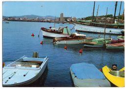 Espagne -- JAVEA-- Port Et Douane  ( Bateaux , Vue Générale )  --- Timbre --cachet - Autres