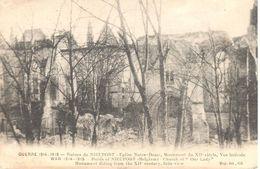 Nieuwpoort - Nieuport - CPA - Ruine De Nieuport - Eglise Notre Dame - Nieuwpoort