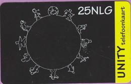 Télécarte Hollande °° 25NLG - Noir-Jaune - RV 949. - Cartes GSM, Prépayées Et Recharges