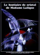 """Plaquette 16 Pages """"Le Bestiaire De Cristal De Madame Lalique """" - Art"""