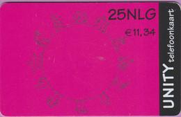 Télécarte Hollande °° 25NLG - Rose-Noir - R 4883 - Cartes GSM, Prépayées Et Recharges