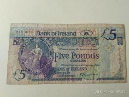 5 Pounds 1990 - [ 2] Ireland-Northern