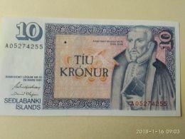 10 Kronur 1981 - Islanda