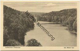 Tiefensee - Am Mittel See - Verlag J. Goldiner Berlin - Werneuchen