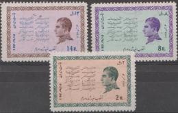 IRAN - 1968 White Revolution. Scott 1462-64. MNH ** - Iran