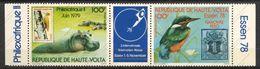 Haute-Volta, Yvert PA221A, Scott C253&C254, Neuf Sans Charnière, MNH - Haute-Volta (1958-1984)