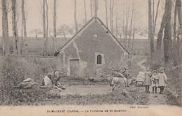 72 - SAINT MAIXENT - La Fontaine De St Quentin - Altri Comuni