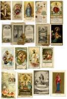 L 141 - LOTTO DI 15 SANTINI - Religione & Esoterismo