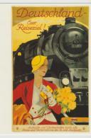 SAK956  / Bahnreisen-Werbung, Deutschland (ungebraucht)  ** - Trenes