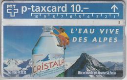 SUISSE - PHONE CARD - TAXCARD-PRIVÉE ***  CRISTALP *** - Switzerland