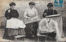 CPA (70)  LUXEUIL LES BAINS.  Comment On Brode à Luxeuil, Animé.  .B241 - Autres Communes