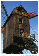 O.L.V. LOMBEEK Bij Roosdaal (Vl.-Brabant) - Molen/moulin - De Staakmolen Opgezeild In Werking (1993). Mooie Close-up - Roosdaal