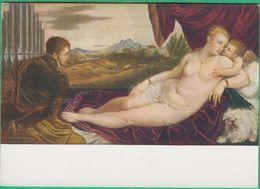Arts - Peinture - Tizian - Venus Und Der Orgelspieler - Editeur: Julius Bard (femme Nue) - Peintures & Tableaux