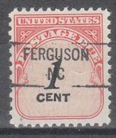 USA Precancel Vorausentwertung Preo, Locals North Carolina, Ferguson 841 - Vereinigte Staaten
