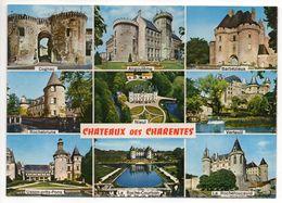Chateaux Des Charentes-Multivues(Cognac,Angouleme,Barbezieux,Nieul,Rochebrune,Usson,Rochefoucault,Verteuil,Roche-Courbon - Châteaux