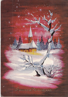 Fantasiekaart - Gelukkig Nieuwjaar - Color/kleur - Gebruikt/gebraucht/used - Nieuwjaar