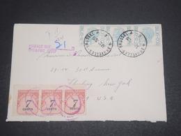 ETATS UNIS - Taxes De New York Sur Enveloppe De Belgique En 1976 - L 11875 - Poststempel