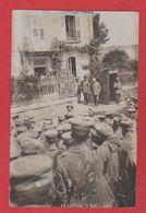 Secteur De Béthincourt   --  Carte Photo -- Rassemblement De Soldats Allemands - 12 Res Div 29/8/1915 - France