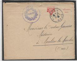 Etats Unis - Entier American YMCA - Soldier's Mail - Poststempel