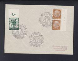 Dt. Reich Brief 1938 Frankfurt Main Box Meisterschaften - Briefe U. Dokumente