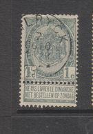 COB 53 Oblitéré WILRYCK Catalogue COBA +8 - 1893-1907 Armoiries