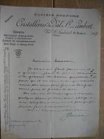 Lettre 1907 - VAL SAINT-LAMBERT - CRISTALLERIES DU VAL SAINT-LAMBERT - Ohne Zuordnung