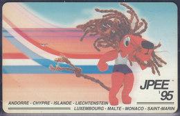 "Luxembourg, Telekaart ""JPEE '95"", 50 Units (T.111) - Luxembourg"
