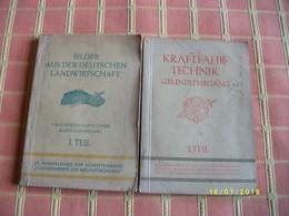 2 Livres Techniques En Allemand - Livres, BD, Revues