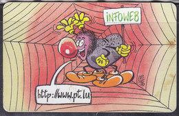 "Luxembourg, Telekaart ""infoweb"", 50 Units (T.112) - Luxembourg"