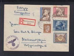 Dt. Reich Feldpost Einschreiben Bayerisch Gmain 1943 - Briefe U. Dokumente