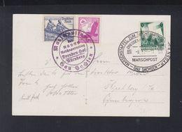 Dt. Reich Marschpost PK Gau Sachsen 1936 - Briefe U. Dokumente